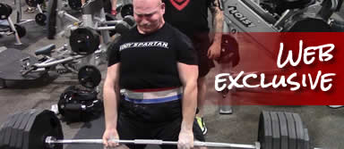 Fitness motivation with powerlifting and deadlifts
