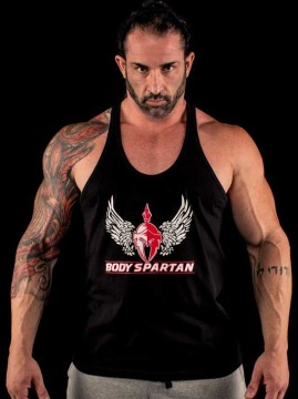 Stringer Tank Top by Body Spartan