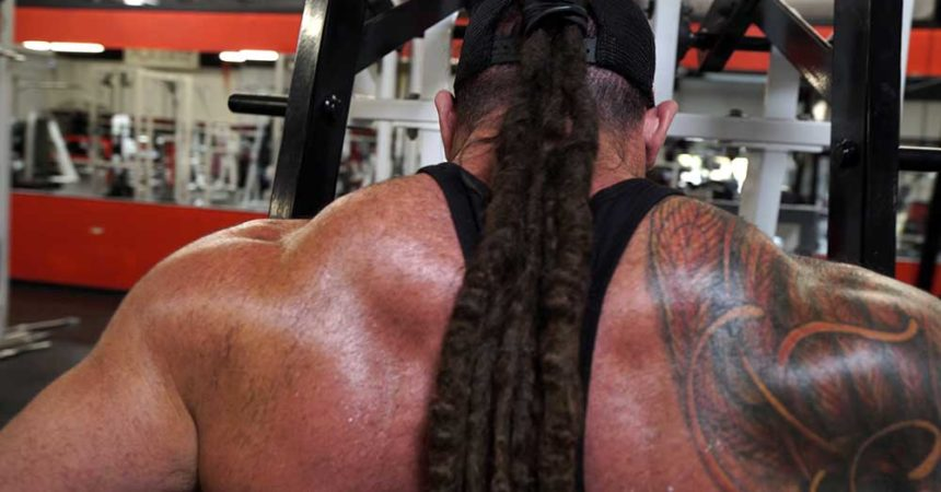 Back and triceps workout