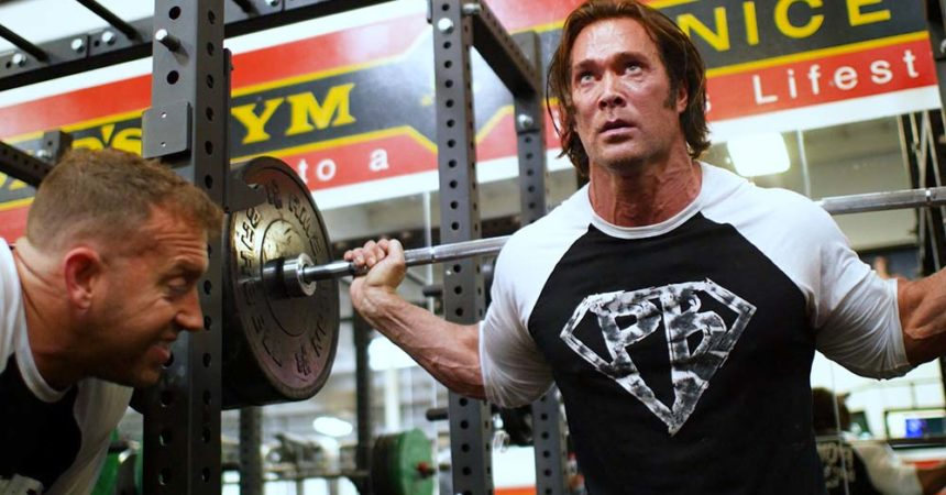 leg workout with Mike O'hearn